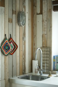 Wood&Wool kitchen sink