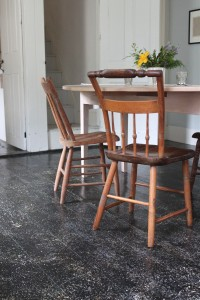 Salttimber dining room table