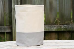 Inklore canvas bucket