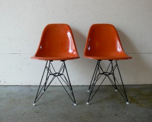CoMod's restored Eiffel based Eames chairs