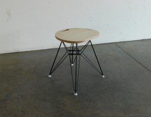 CoMod's Eames Inspired Eiffel based stool