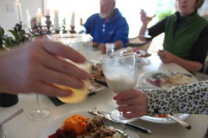designskool Thanksgiving table - skoal!