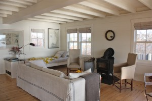living room - maine cottage by Sheila Narusawa architect