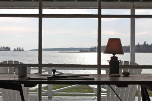 view - maine cottage by Sheila Narusawa architect