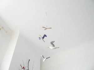 seagull mobile  by cocon handmade