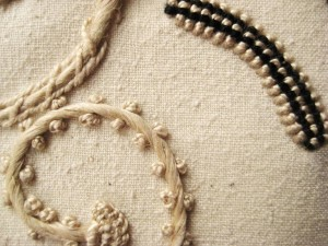 renilde de peuter - embroidery detail