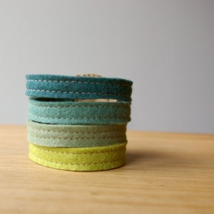 felt cuff by loftfullofgoodies