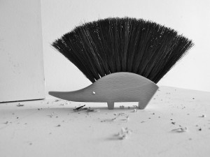 redecker hedgehog brush by Swim at Two Birds