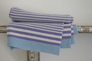 Nicola blankets at Papa Stour