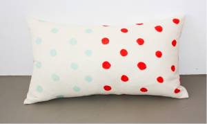 mondaysmilk dot pillow