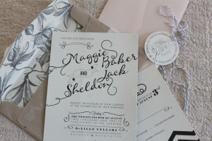 Jack's wedding invite