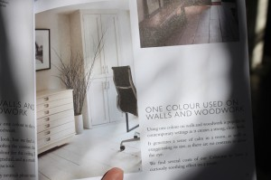 Farrow and Ball catalog - office