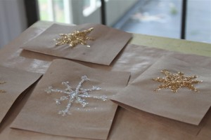 snowflake and sun cards