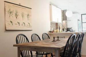 Debby's table by Tara and Percy