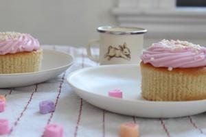 cupcakes and bunny mug