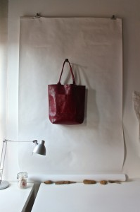 red bag,  sophie truong studio: designskool