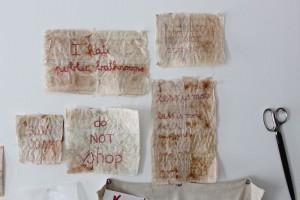 red stitch, sophie truong studio: designskool