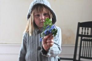 scilla bouquet