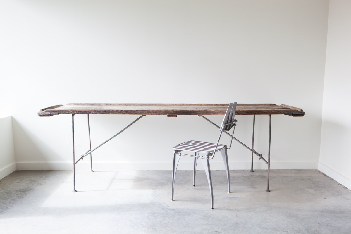 Object And Light Vintage Folding Table