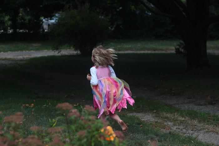 Solvi Fairy flies away