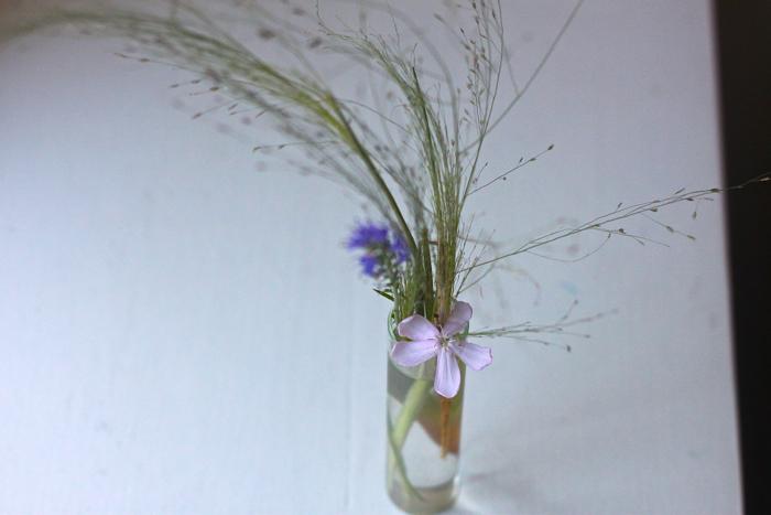 Solvi grass posie detail