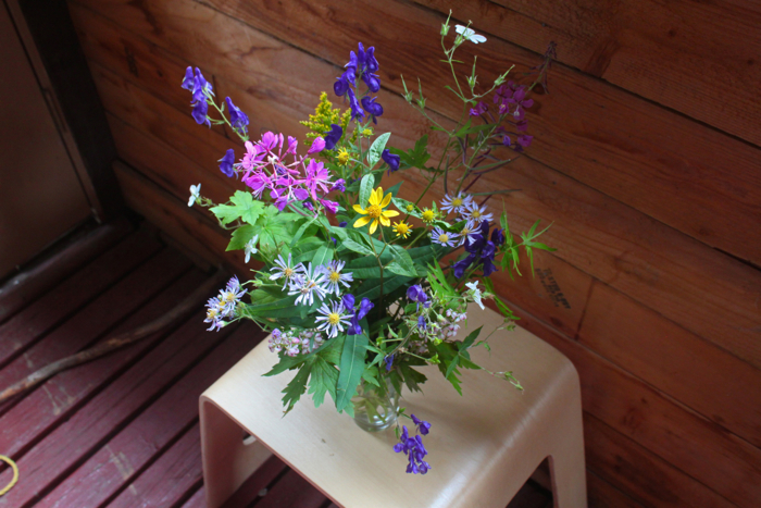 mountain wildflower bouquet