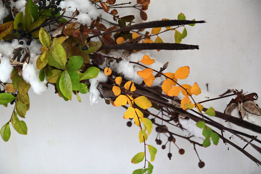 DIY Cotton Garland, detail 6, by Justine Hand for Gardenista