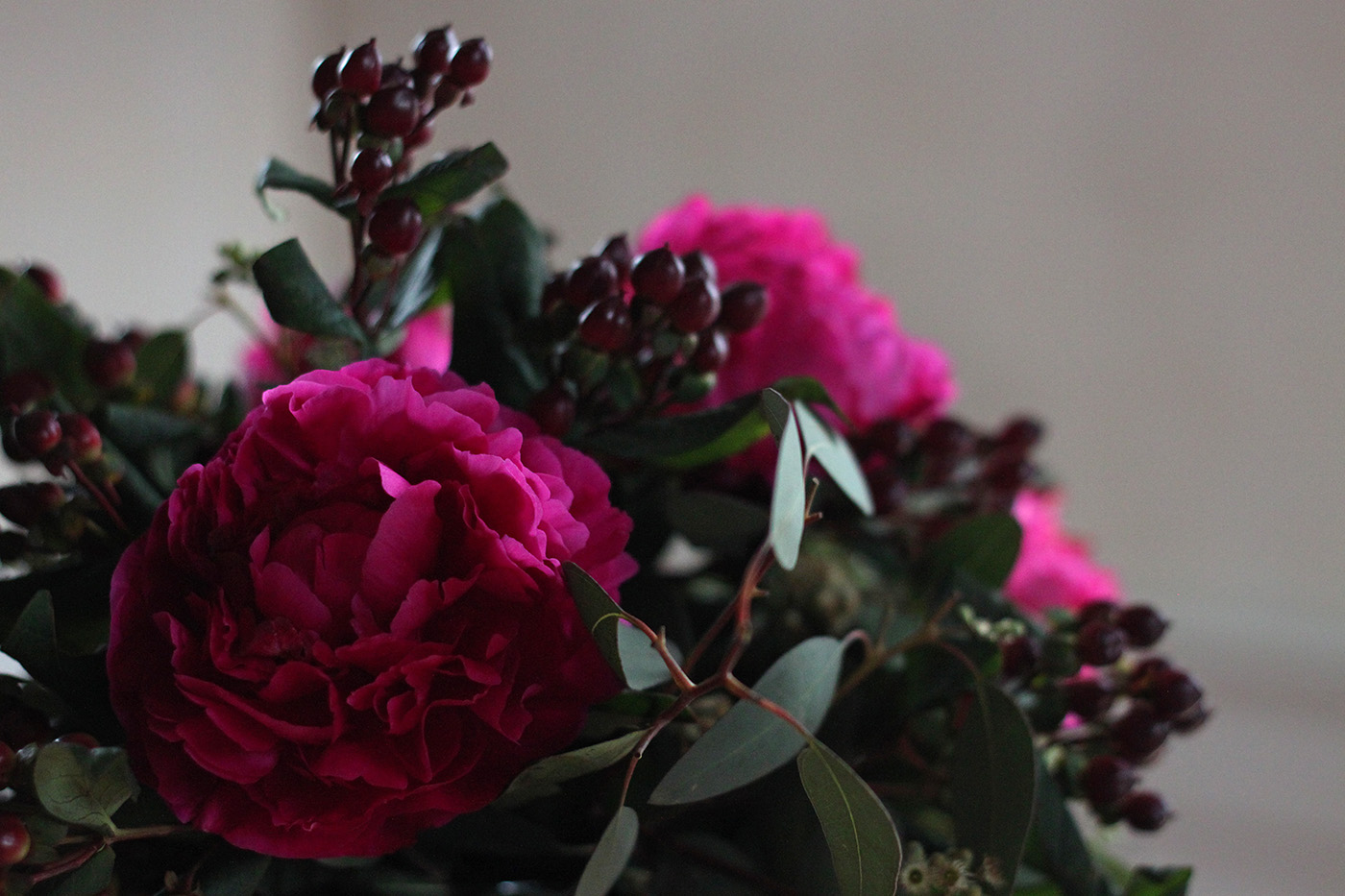 peony bouquet detail 3
