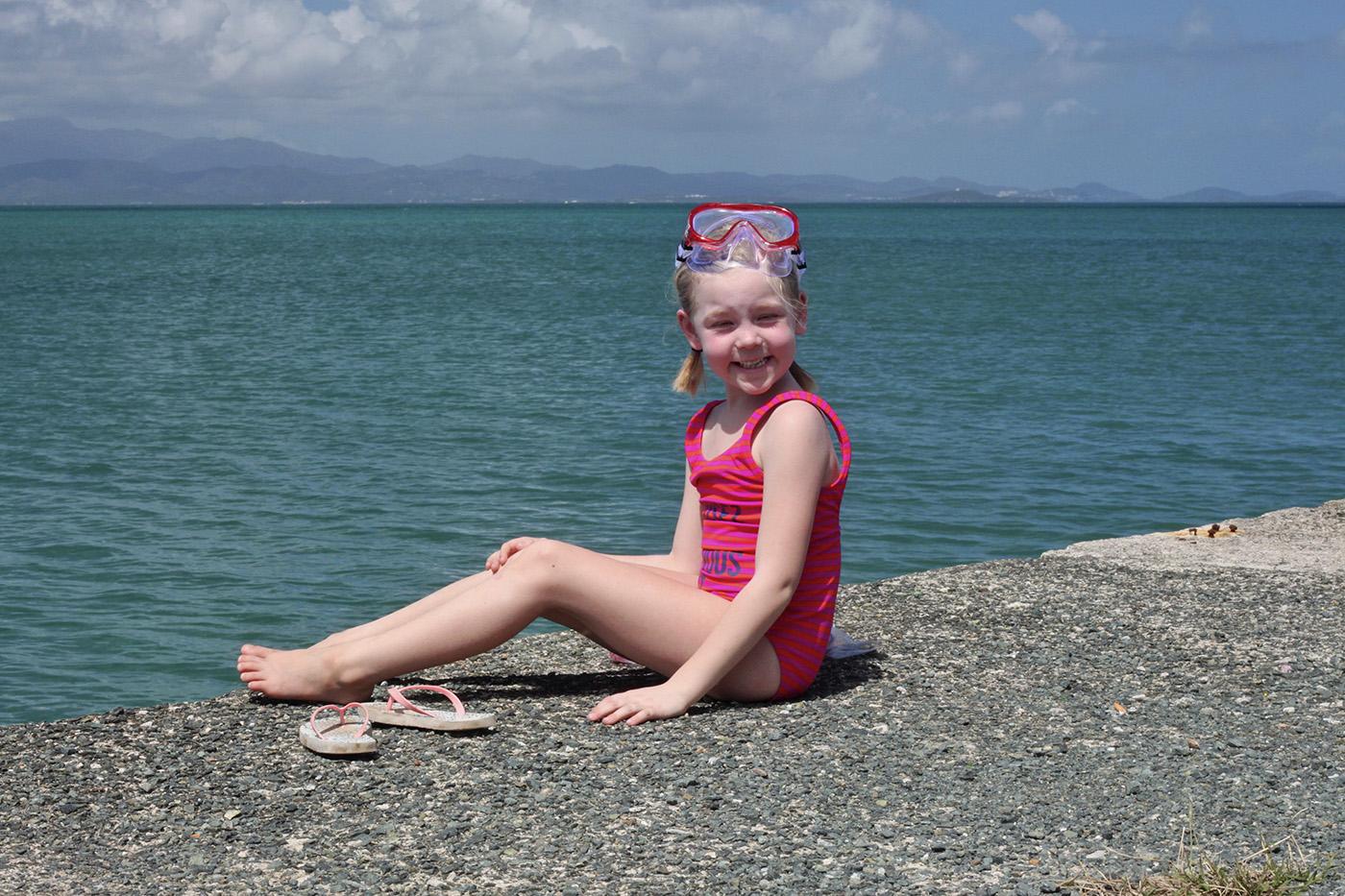 Solvi snorkleing Vieques