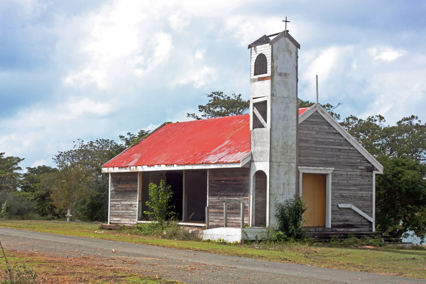 Vieques church