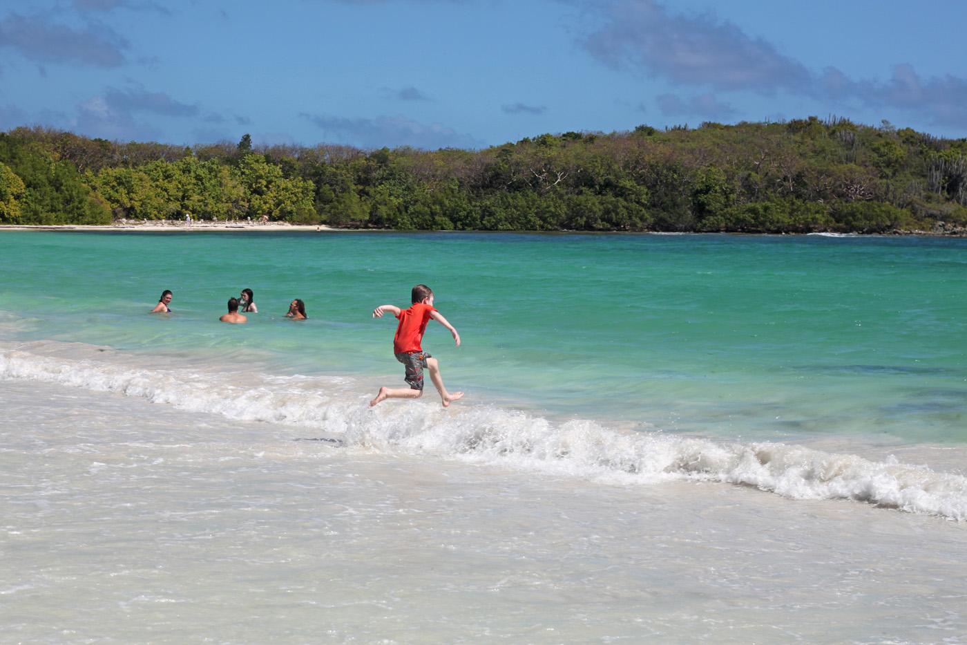 back in the water! Plata Prieta, Vieques