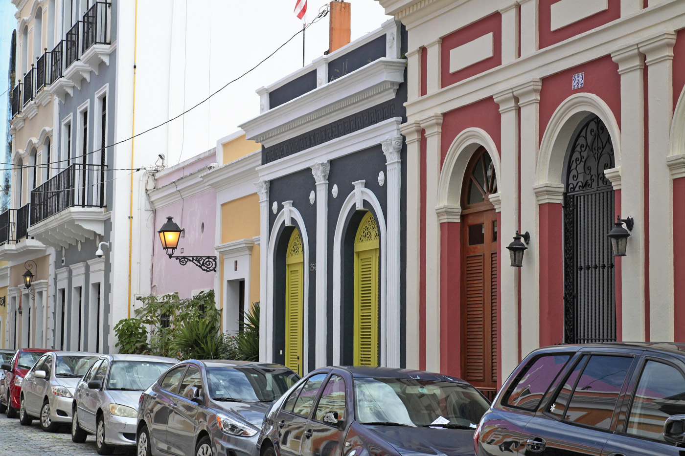 colorful bldgs old San Juan