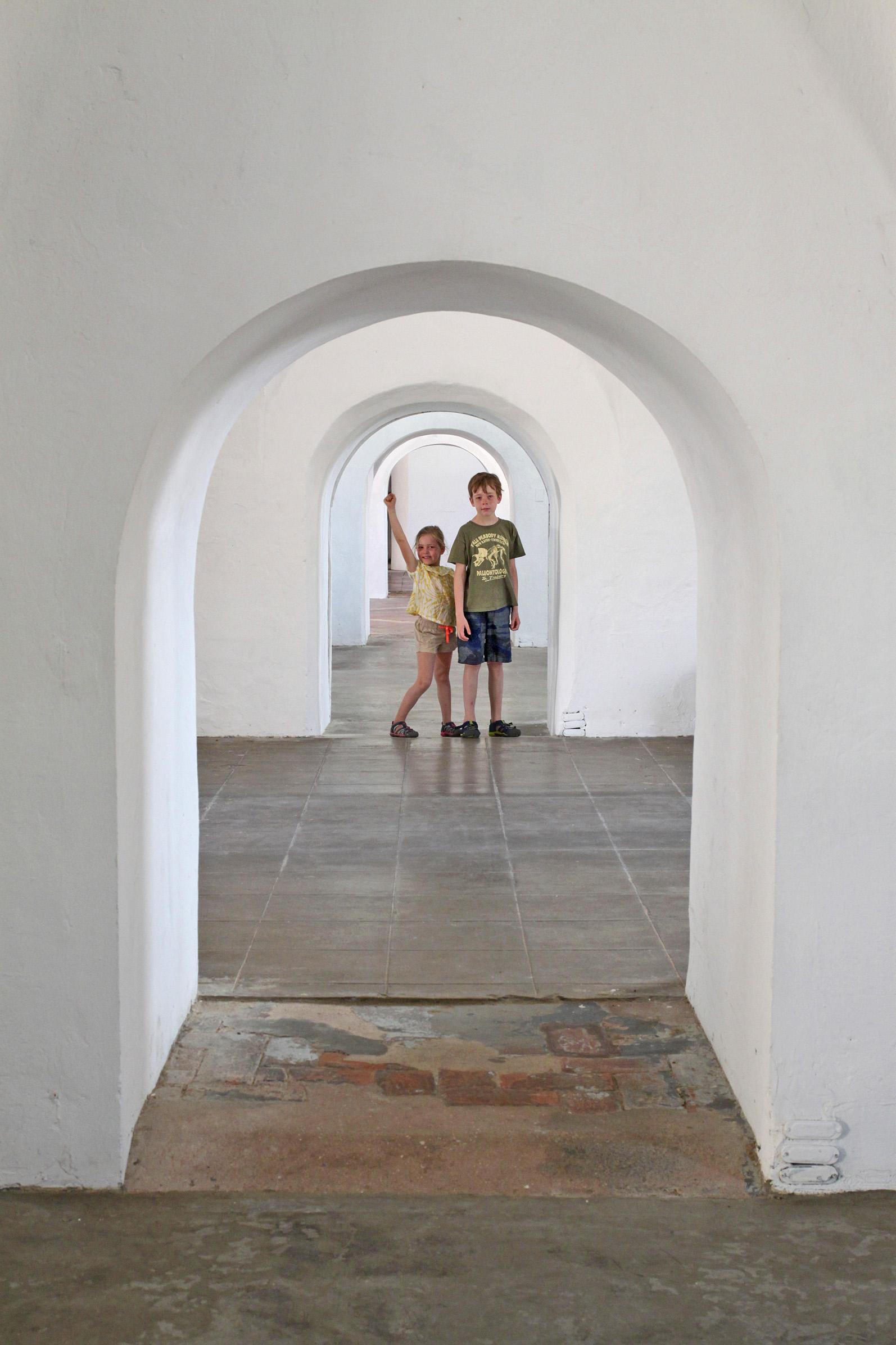 conquering kids, castillo san cristobal, old san juan