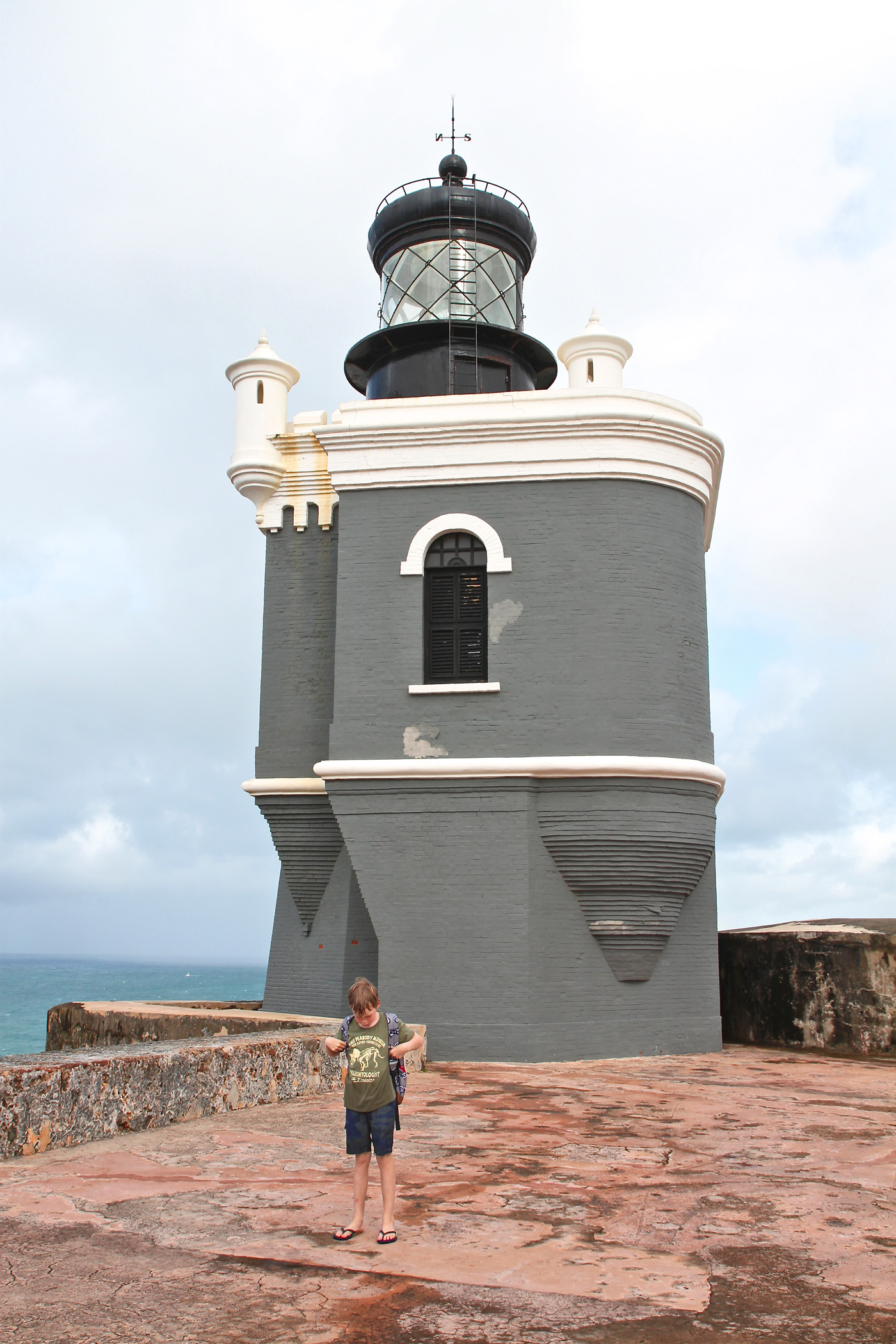 light house el morro, san juan