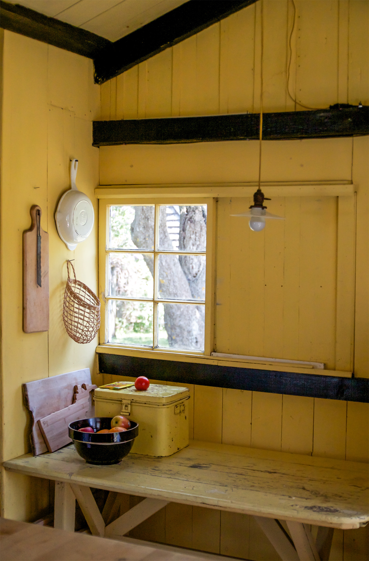 cottage kitchen window