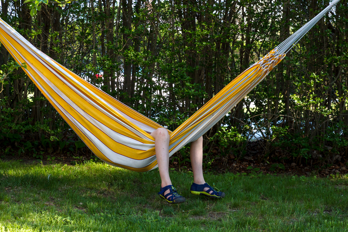 hammock with legs