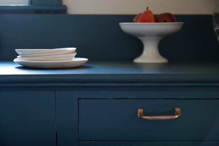 F&B Inchyra Blue pantry drawer, Remodelista